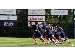 Fenerbahçe'de Benfica maçı hazırlıkları başladı