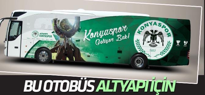 Konyaspor Futbol Gelişim Akademisine yeni otobüs
