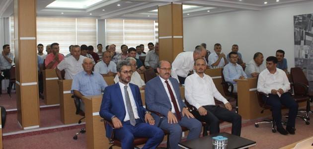 AK Parti Karapınar İlçe Danışma Meclisi toplantısı yapıldı.