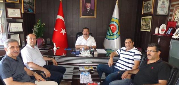 KOP Başkanı Bostancı Karapınar'ı ziyaret etti
