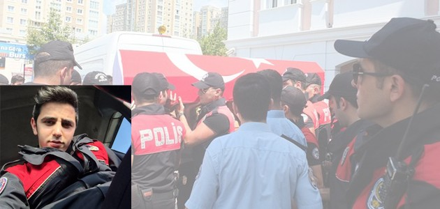 Trafik kazasında ölen Konyalı polis memuru toprağa verildi
