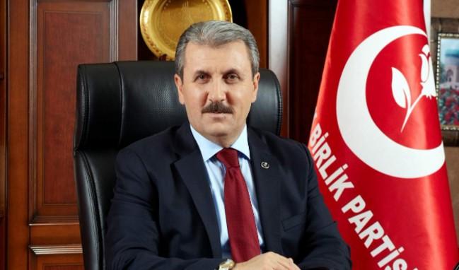 """Mustafa Destici'den flaş """"idam cezası"""" teklifi!"""