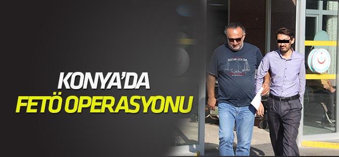 Konya'da FETÖ/PDY operasyonu: 6 gözaltı