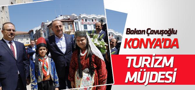 Dışişleri Bakanı Mevlüt Çavuşoğlu, Konya'da