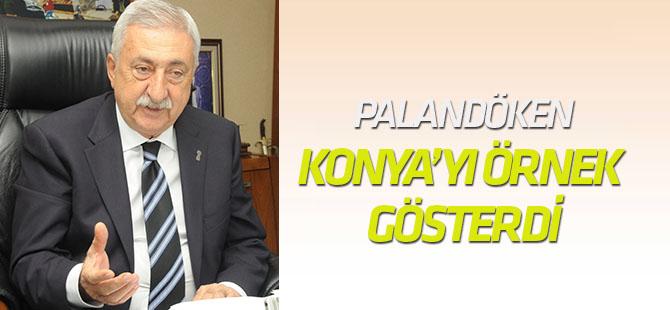 Palandöken AVM Tatilinde Konya'yı örnek gösterdi