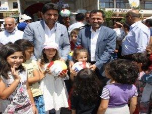 Derbent'te bayramlaşma programı