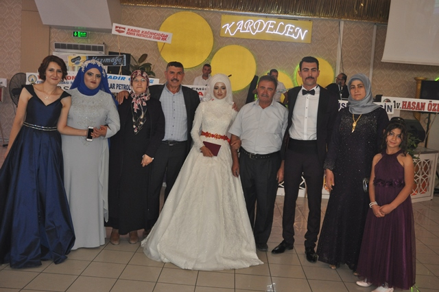 Ali Sait Öge oğlunu evlendirdi