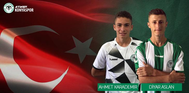 Konyasporlu 2 oyuncuya U15 Milli Takımı daveti