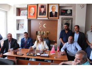 MHP Konya Milletvekili Kara'dan Yunak'a ziyaret