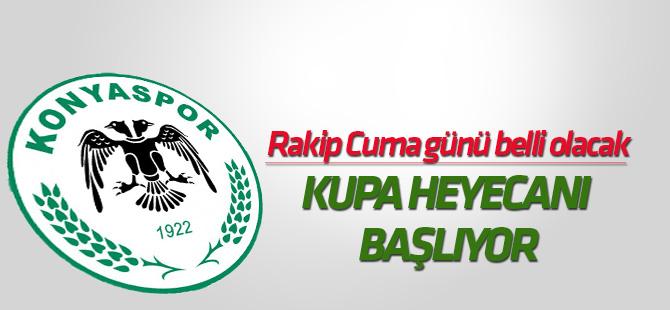 Konyaspor için Ziraat Türkiye Kupası heyecanı başlıyor
