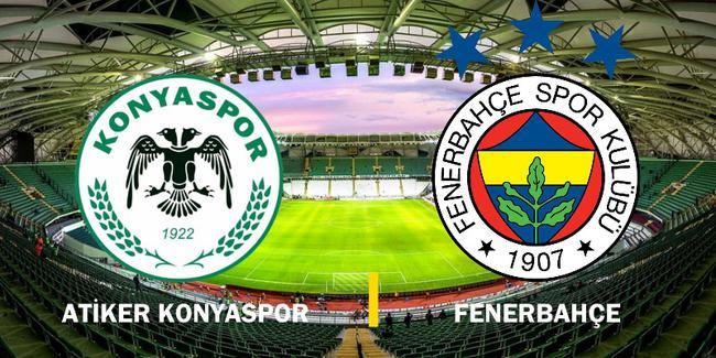 Konyaspor-Fenerbahçe maçının hakemi belli oldu