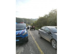 Traktör römorku devrildi 5 yaralı
