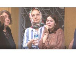 Ailesinin işyeri alev aldı genç kız göz yaşlarına boğuldu