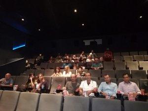 Gaziantep'te hükümlülere sinema etkinliği