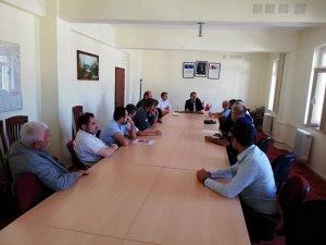 Derebucak'ta okul güvenliği toplantısı