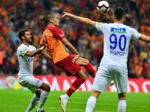 Spor Toto Süper Lig: Galatasaray: 0 - Kasımpaşa: 0 (İlk yarı)