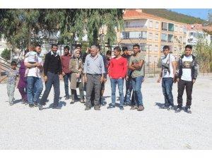 Ayvalık'ta 27 mülteci yakalandı