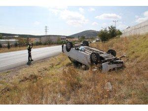 Konya'da otomobil takla attı: 3'ü bebek 6 yaralı