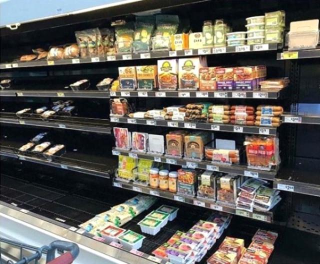Kasırgaya Hazırlık Yapan ABD'liler, Sadece Vegan Ürünleri Almadı