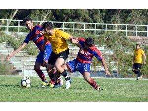 Aliağaspor FK'dan gollü prova