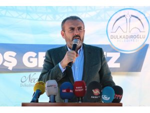 """AK Parti Genel Başkan Yardımcısı Ünal: """"Allah'ın izniyle istikbal bu milletin olacaktır"""""""