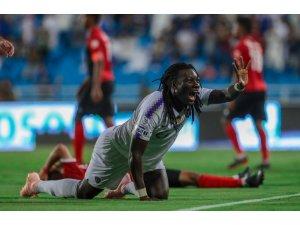 Bafetimbi Gomis, Arabistan'da ilk golünü attı