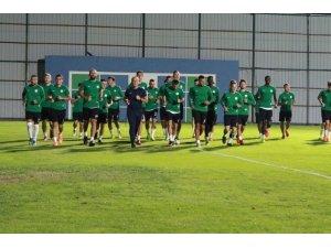 Çaykur Rizespor, Bursaspor maçının hazırlıklarını tamamladı
