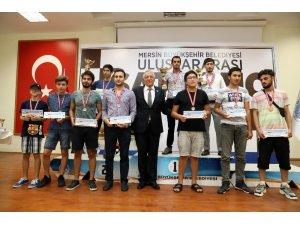 3. Uluslararası Mersin Açık Satranç Turnuvası sona erdi