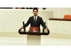MHP'li Özdemir Antalya-Kayseri Hızlı Tren Projesi'ni Meclis gündemine taşıdı
