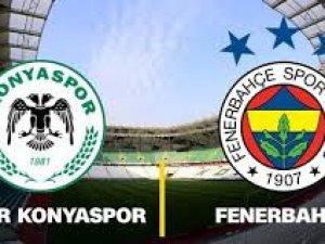 Fenerbahçe ile Konyaspor 35. maça çıkıyor