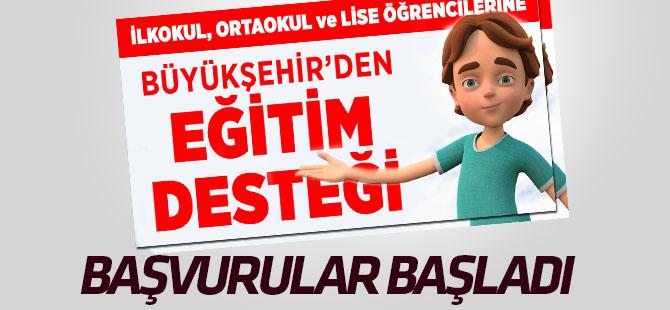 Konya Büyükşehir Belediyesi Eğitim Yardımı başvuruları başladı