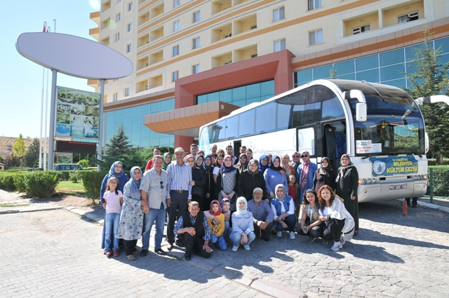 Şehit Aileleri Kapadokya'yı gezdi