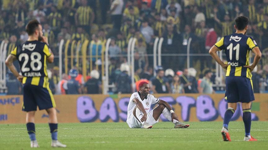Spor Toto Süper Lig: Fenerbahçe: 1 - Beşiktaş: 1 (Maç sonucu)
