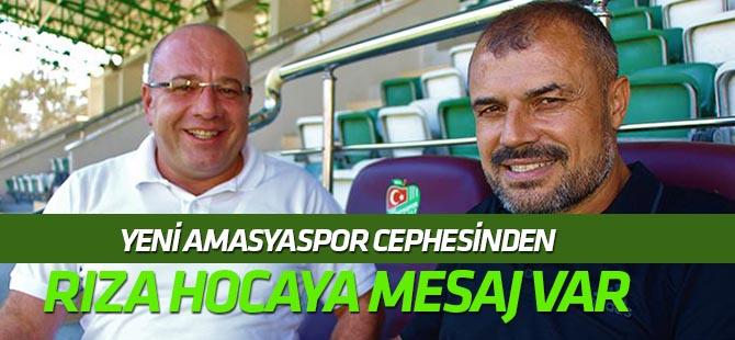 Yeni Amasyaspor Teknik Direktörü Osman Bozkurt:  Rıza hocaya sürprizimiz var