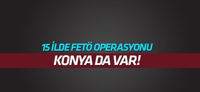 15 ilde FETÖ üyesi askeri personellere operasyon