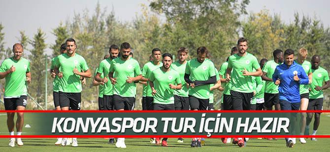 Konyaspor,  Amasyaspor maçı hazırlıklarını tamamladı