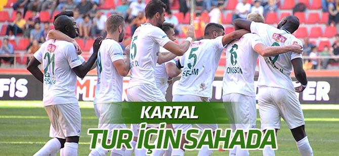 Atiker Konyaspor, Yeni Amasyaspor deplasmanında