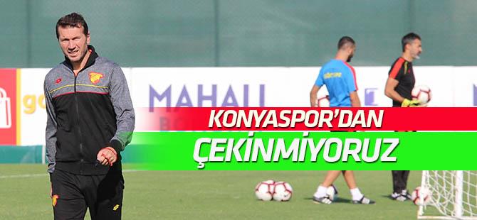Bayram Bektaş: Konyaspor'dan çekinmiyoruz