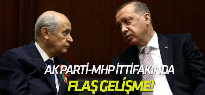 AK Parti-MHP ittifakında yeni gelişme!