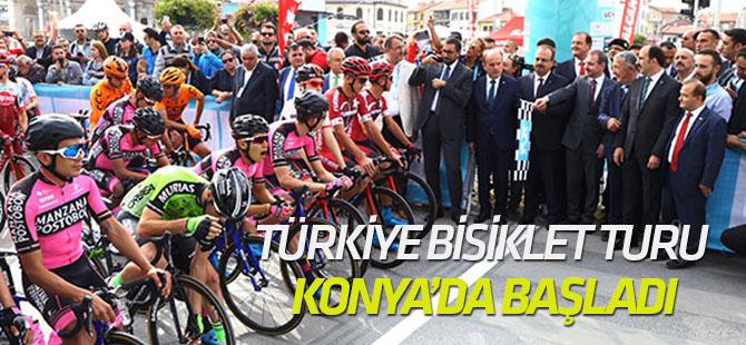 54. Cumhurbaşkanlığı Türkiye Bisiklet Turu Konya'da başladı