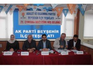 AK Parti Beyşehir Teşkilatında Danışma Toplantısı yapıldı