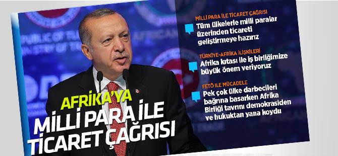 Cumhurbaşka Erdoğan Türkiye-Afrika Ekonomi ve İş Forumunda konuştu