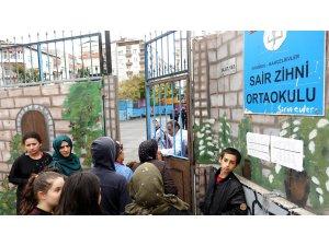 GÜNCELLEME- Bahçelievler'de okulda yangın