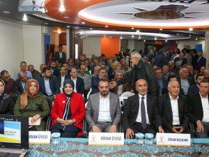 AK Parti Meram'da Danışma Meclisi 71. kez toplandı