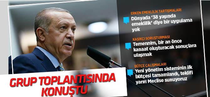 Cumhurbaşkanı Erdoğan AK Parti TBMM Grup Toplantısında konuştu
