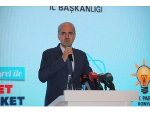 """Numan Kurtulmuş: """"AK Parti olarak bir kere daha tarih yazacağız"""""""