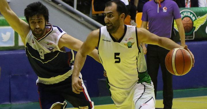 Akhisar Belediyespor:100- Selçuklu Basketbol:73