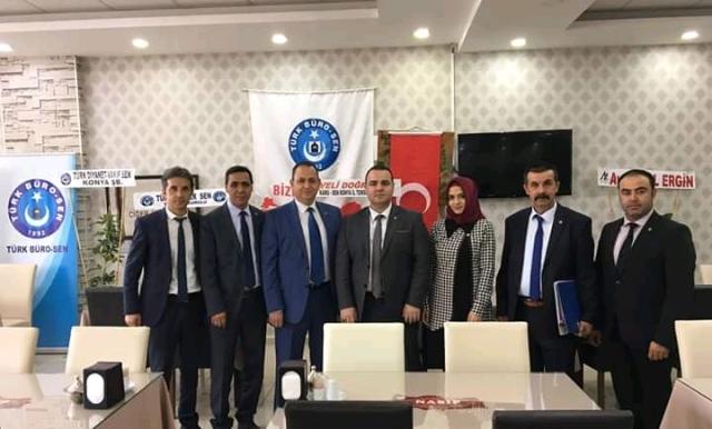 Türk Büro-Sen'de Ahmet Efe Güven Tazeledi