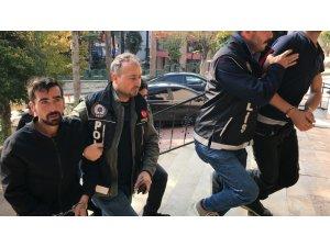 Uyuşturucudan adliye sevk edilen zanlılardan gazetecilere ilginç sözler