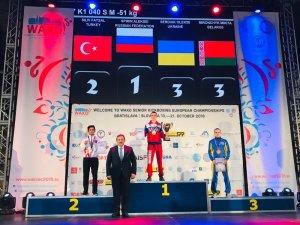 Aydın'dan kick boksta Avrupa 2'nciliği
